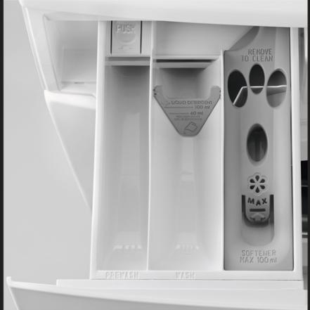 02a64dab2 ... Obrázok Automatická práčka AEG L8FBE48SI biela + Doprava zadarmo ...